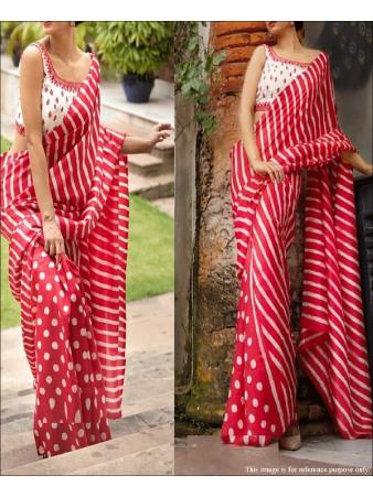 RE - Attractive Multi Colored Soft Silk Saree